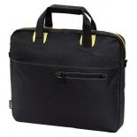сумка для ноутбука Hama San Francisco Notebook Bag 17.3, черно-желтая