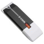 адаптер Wi-Fi D-link DWA-140, Черно-белый