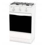 плита Лада GP 5204 W (газовая, 2 конфорки, духовка), белая