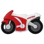usb-флешка SmartBuy Wild series Motobike 16GB, Красно-белая