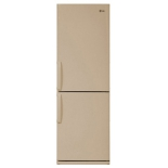 холодильник LG GA-B379 UEDA, бежевый