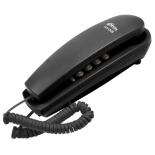 проводной телефон Ritmix RT-005, черный