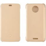 чехол для смартфона Lenovo для Motorola Moto С, золотистый