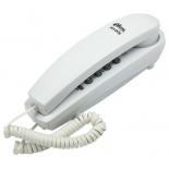 проводной телефон Ritmix RT-005, белый