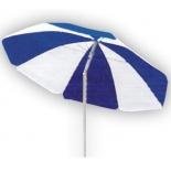 зонт садовый Торг-хаус (d180 см) сине-белый