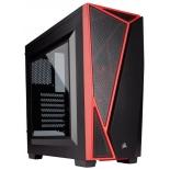 корпус Corsair Carbide Series SPEC-04 (без БП), черно-красный