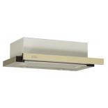вытяжка кухонная Elikor Интегра Glass 45Н-400-В2Г (нерж/стекло бежевое)