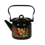 чайник для плиты Стальэмаль 1с25с, рябина черная