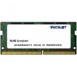 модуль памяти Patriot PSD44G213382S (DDR4, SODIMM, 4Gb, 2133MHz)