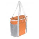 сумка-холодильник World Rider WR 6516, серо-оранжевая