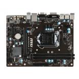 материнская плата MSI H81M-P33 Plus (mATX, LGA1150, Intel H81, 2xDDR3, 2xUSB3.1)