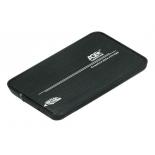корпус для жесткого диска AgeStar 31UB2A8C (2.5'', SATA - microUSB3.1с), чёрный