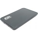 корпус для жесткого диска AgeStar 3UB2A8 (2.5'', SATA - microUSB3.0b), чёрный