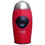 Кофемолка Аксион КМ-22, красная
