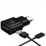 зарядное устройство Samsung EP-TA20EBECGRU, черное