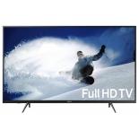 телевизор Samsung UE43J5202AUX, чёрный
