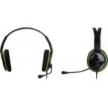 гарнитура для ПК Genius HS-400A, черная с зеленым