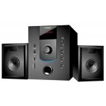 Компьютерная акустика Колонки Hyundai H-HA200 2.1 черные, купить за 3 045руб.