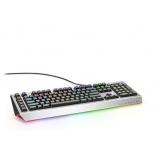 клавиатура Dell AW768 серебристо-черная