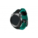 ремешок для умных часов Samsung Galaxy Gear Sport Hybrid Sport (кожа), зеленый