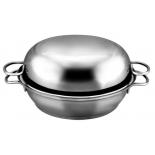 жаровня Амет Классика-Прима 1с748 22 см (нержавеющая сталь)