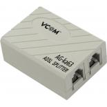 разветвитель сетевой Vcom VTE7703 ADSL Splitter
