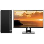 фирменный компьютер HP Bundles 290 G1 (3EC08ES) + HP  VH240a черный