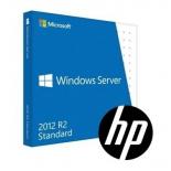 ос windows Microsoft Windows Server 2012 R2 Standard Edition 64bit (2 ПК, ROK DVD, Proliant only), 748921-421
