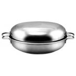 жаровня Амет Классика-Прима 1с749 26 см ( металлическая  крышка)