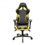 игровое компьютерное кресло DXRACER OH/RV131/NY черное/желтое RACING