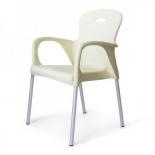 стул Afina Remy XRF-065-BW (XRB-065B) белый