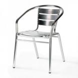 стул Afina LFT-3059 metallic, серебристый