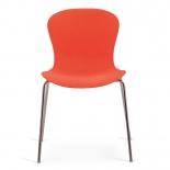 Стул Afina Molly XRB-078-AO  оранжевый, купить за 3 900руб.