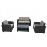 мебельный гарнитур Afina AFM-2017B темно-коричневый