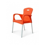 стул Afina Remy XRF-065-BO (XRB-065B) оранжевый