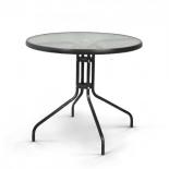 стол садовый Afina Николь TLH-087-D80, черный