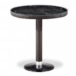 стол садовый Afina T504T-W2390-D70, коричневый