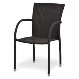 стул садовый Afina Y282A-W52 коричневый