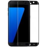 защитное стекло для смартфона Glass Pro для Samsung S7 G930, Full Screen, чёрное