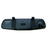 Автомобильный видеорегистратор Digma FreeDrive 303 Mirror Dual, черный, купить за 3 850руб.