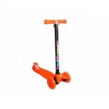 самокат для взрослых Moove&Fun MF-Maxi-LED, оранжевый