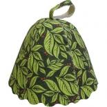 аксессуар для купания детей Банные штучки шапка, листья