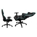 игровое компьютерное кресло ThunderX3 RC3, черное с синим