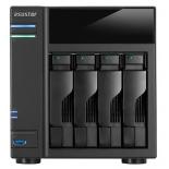 сетевой накопитель Asustor AS6104T (4-Bay Cel Quad Core 2GB)