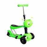самокат для взрослых Moove Fun Пчёлка MF-SCST-02 GREEN, зелёный