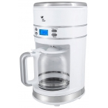 кофеварка Kitfort КТ-704-1, белая
