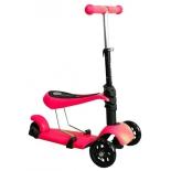 самокат для взрослых Moove&Fun MF-SCST-01 Rose Red, малиновый