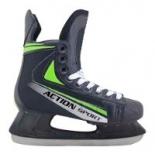 коньки Action PW-434 размер 41 (хоккейные)