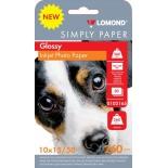 фотобумага для принтера Lomond Simply 0102165 (260г/м2, 50л)