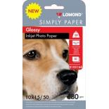 фотобумага для принтера Lomond Simply 0102168 (180г/м2, 50л)
